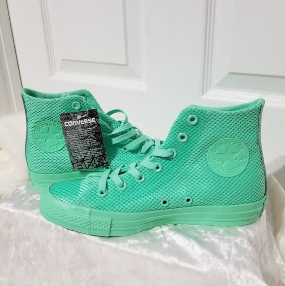 lime green converse high tops